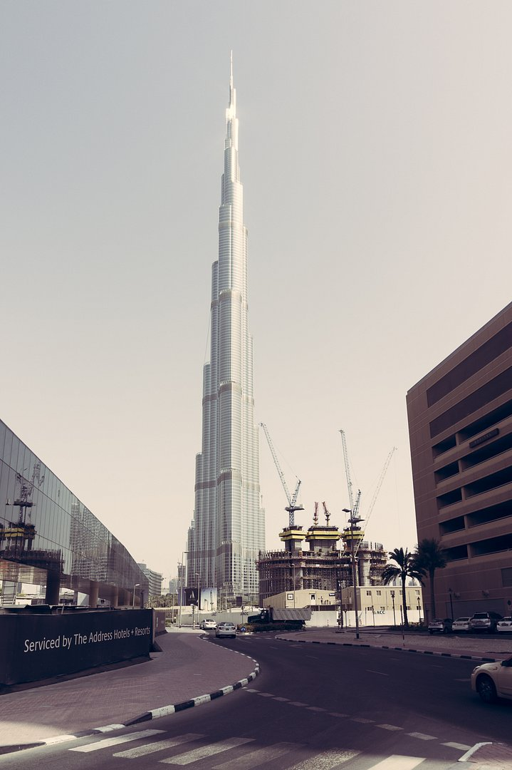 Goodbye to Burj Khalifa