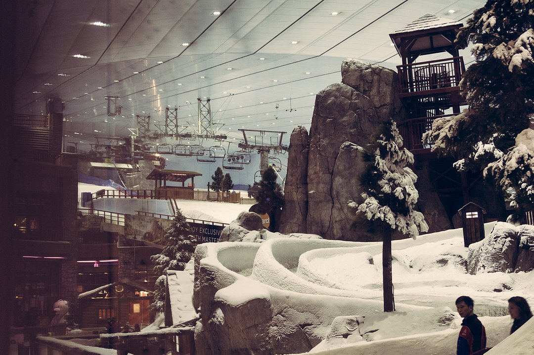 Mall of the Emirates - Skiing