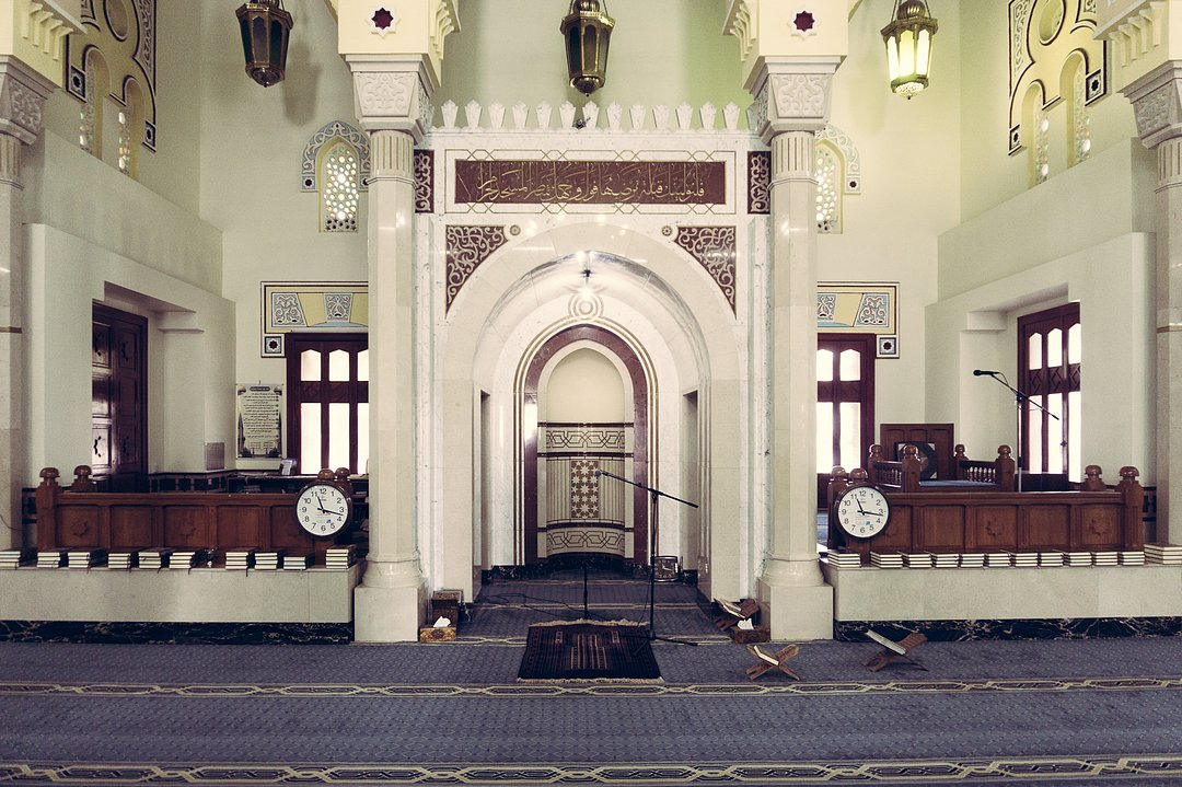 Jumeirah Mosque from the inside