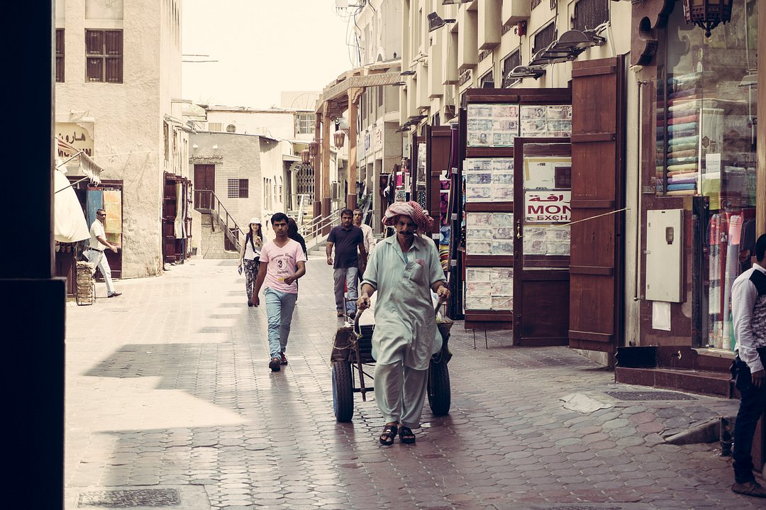 Historical District in Dubai again