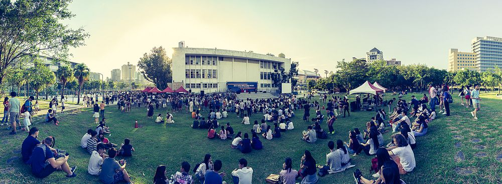 Welcome Party on the Campus